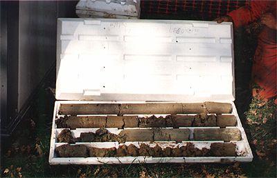 carotaggio in terreni argillosi